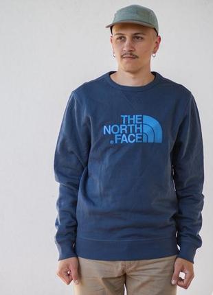 Світшот чоловічий the north face drew peak crew