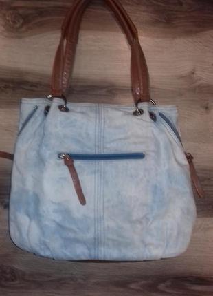 Ддинсовая сумка торба