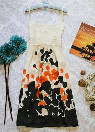 Шелковое очень легкое платье monsoon