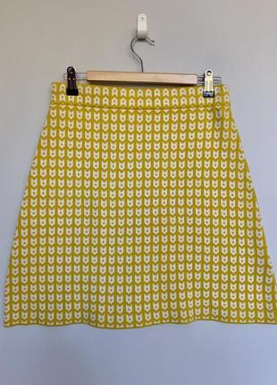 Милая трикотажная юбка collectif mon amour на осень/зиму  , 100 % organic cotton