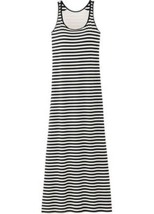 Uniqlo макси платье с бюстом, размер s