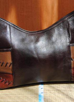 Сумка кожаная кроссбоди clarks/шкіряна сумка