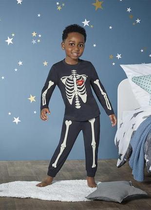 Lupilu® пижама на мальчика (светится) р. 2-4, 4-6 лет