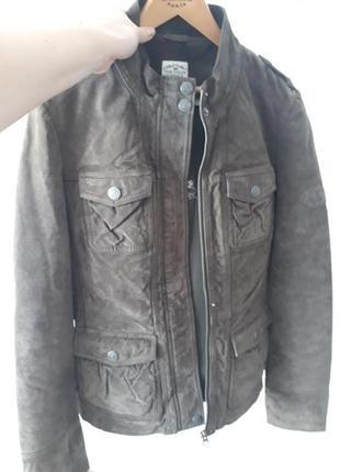 Tom tailor замшевая куртка