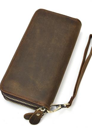 Клатч кожаный мужской tiding bag t4009r
