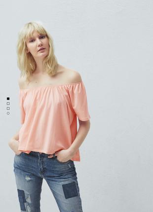 Блуза mango s новая