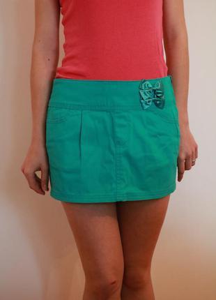 Спідниця коротка юбка мини terranova