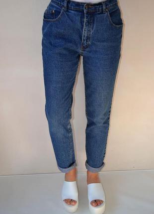 Джинсы бойфренды, рванки, mom jeans, высокая посадка  joie de vivre.