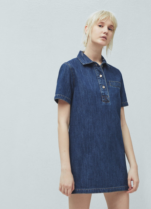 Платье джинсовое mango s новое