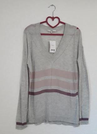 Серый пуловер next