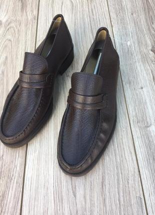 Стильные актуальные кожаные лоферы h&m zara asos мокасины туфли massimo dutti туфли