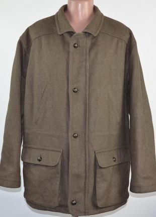 Тёплая охотничья куртка elch (3xl) шерсть. германия.