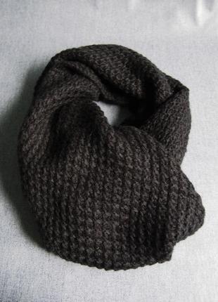 Вязаный шерстяной шарф kiabi
