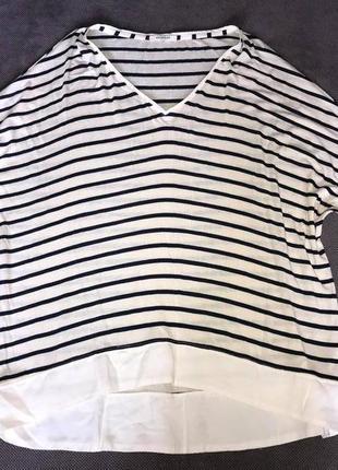 Promod качественная оверсайз футболка (cos zarah&m ocka)