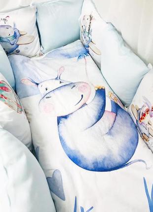 Набор в детскую кроватку , бортики
