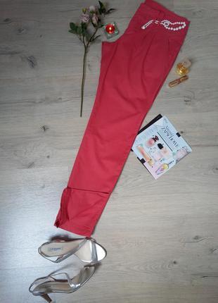Стильные коттоновые брюки.