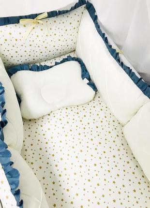 Бортики в кроватку на 4 стороны