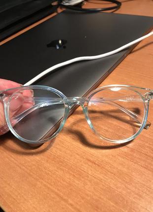 Прозрачные очки