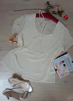 Женственная роскошная шифоновая блуза.