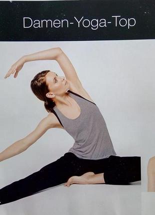 Женская майка для йоги и фитнеса