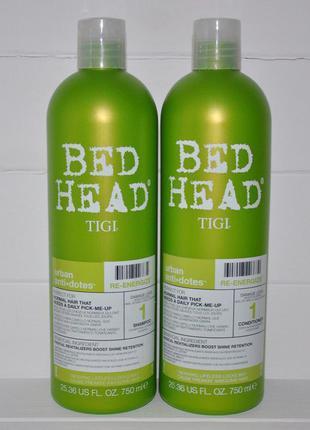 Укрепляющий шампунь для нормальных волос tigi bed head urban antidotes