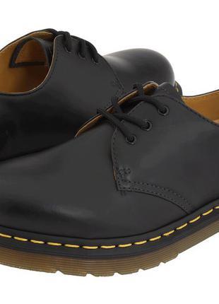 Туфли dr.martens 1461 black smooth