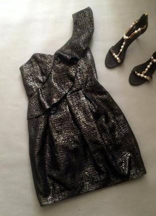 Вечернее коктельное платье на одно плечо miss selfridge