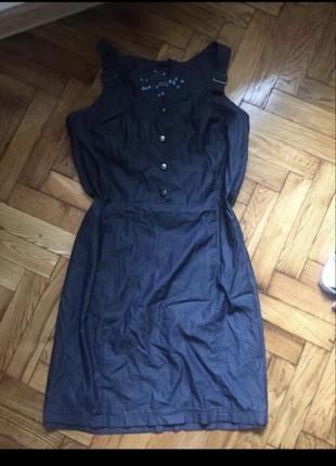 Сарафан джинсовий плаття платье