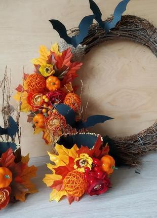 Подсвечники декоративные на хеллоуин