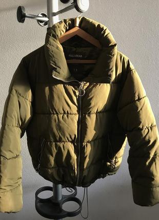 Дутая куртка зима-осень