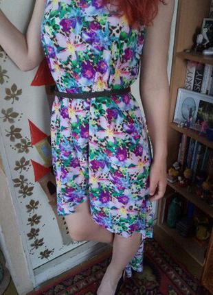 Супер яркое платье
