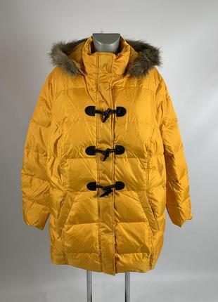 Пуховая зимняя куртка / пуховик / пуховое пальто