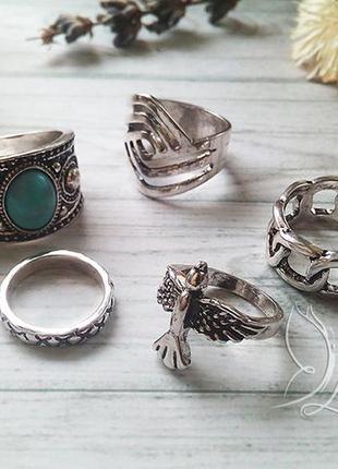 Фаланговые кольца комплект / фалангові кільця комплект