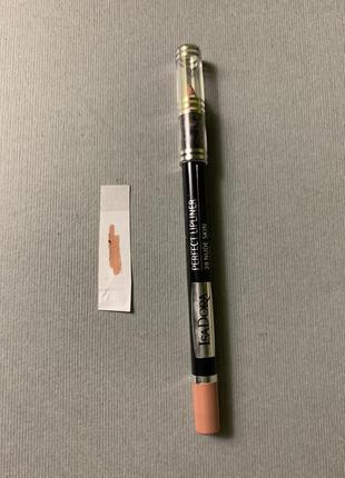 Нюдовый карандаш для губ