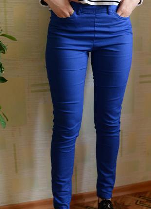 Коттоновые брюки h&m