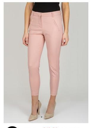 Vero moda нюдовые штаны джеггинсы леггинсы телесные бежевые брюки легинсы размер 38/m