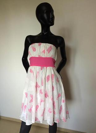 Коттоновое платье 8(36).
