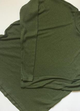 Гольф свитер джемпер водолазка в рубчик тренд 2017 в стилі zara