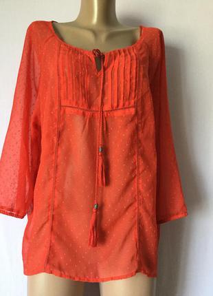 Красная блуза брендовая скидки