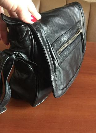 Кожаная сумка кроссбоди clarks