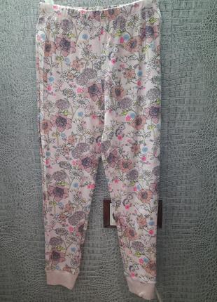 Штаны для сна хлопок george размер 7-8 лет