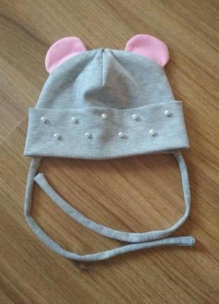 Трикотаж шапка