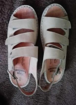 Кожаные босоножки / ортопедические сандалии от finn comfort