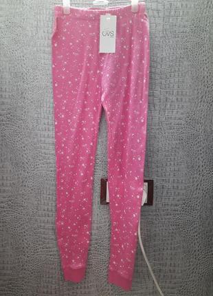 Штаны для сна хлопок ovs италия размер 8-9 лет