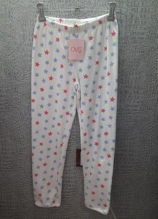Штаны для сна хлопок ovs италия размер 5-6 лет