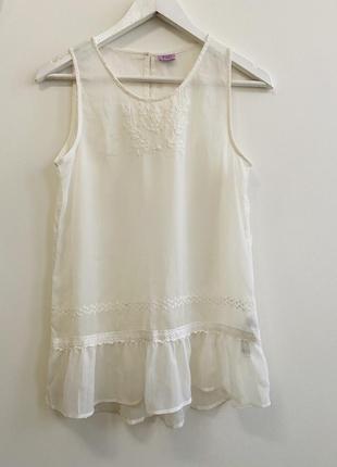 Детская блуза f&f uk 13-14 years #1559 новое поступление 1+1=3🎁