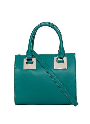 Красивая бирюзовая сумка