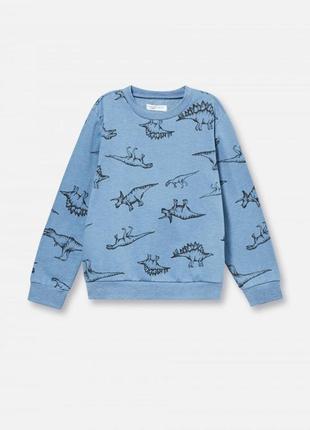 В наличие тепленький свитшот/реглан/кофта/свитер ,рост 116(5-6лет)🦖по скидке!