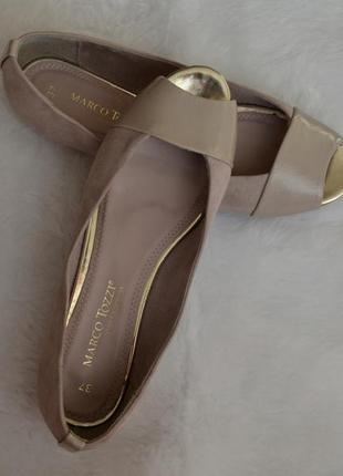 Красивые туфли с открытым носиком