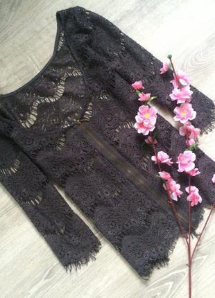 Кружевная блуза new look
